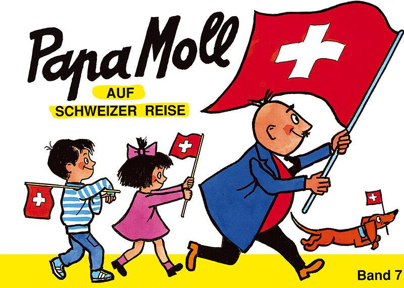 Papa Moll auf Schweizer Reise, Unknown.