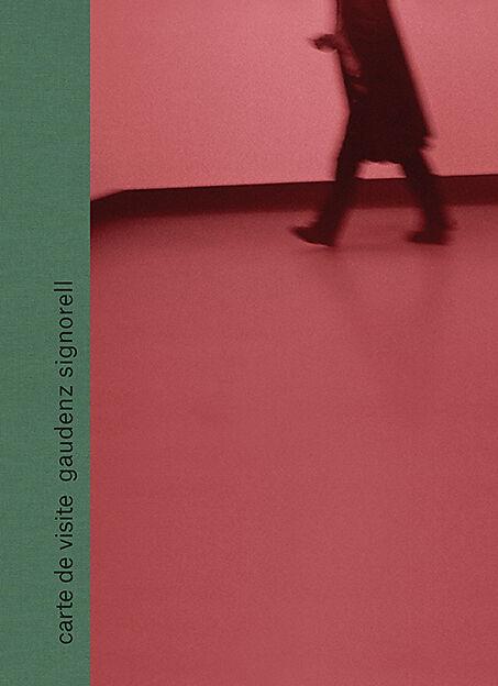 Gaudenz Signorell Carte De Visite Cover Exlibrisazureedge Covers 9783