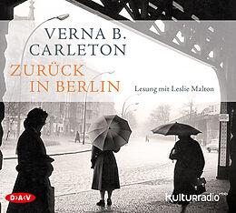 Audio CD (CD/SACD) Zurück in Berlin von Verna B. Carleton