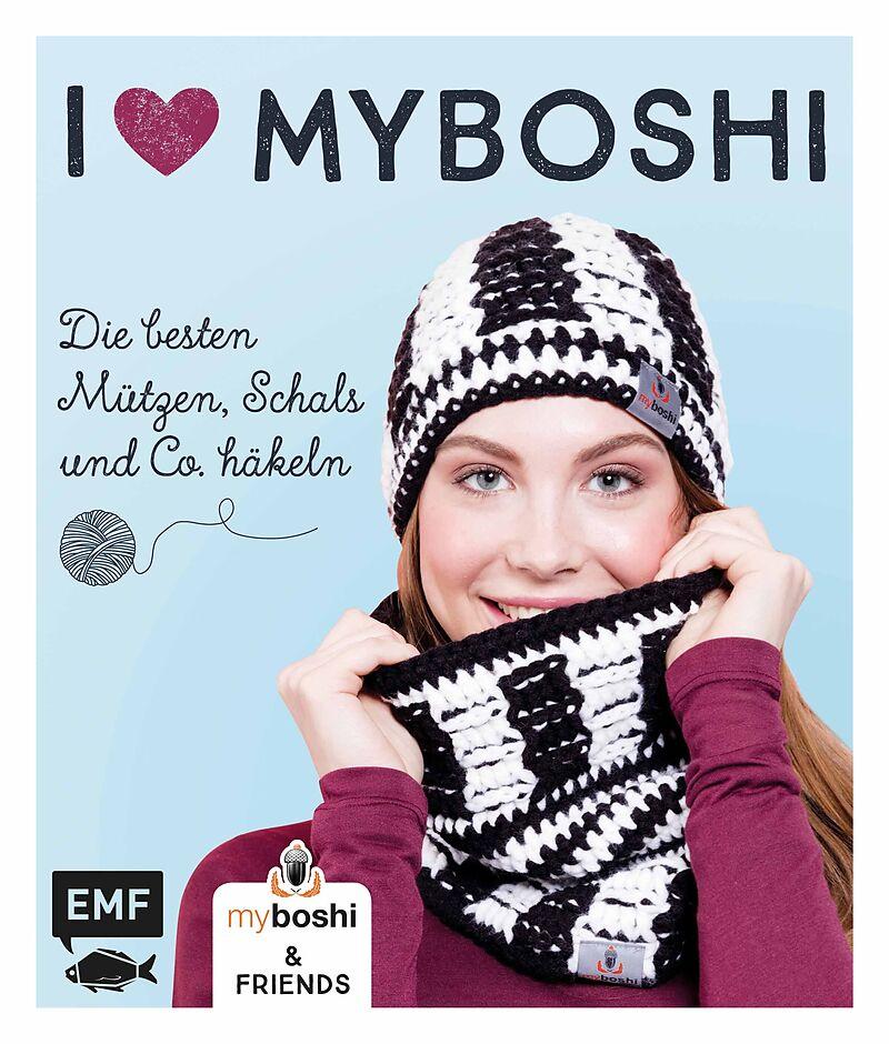 I Love Myboshi Die Besten Mützen Schals Und Co Häkeln Thomas