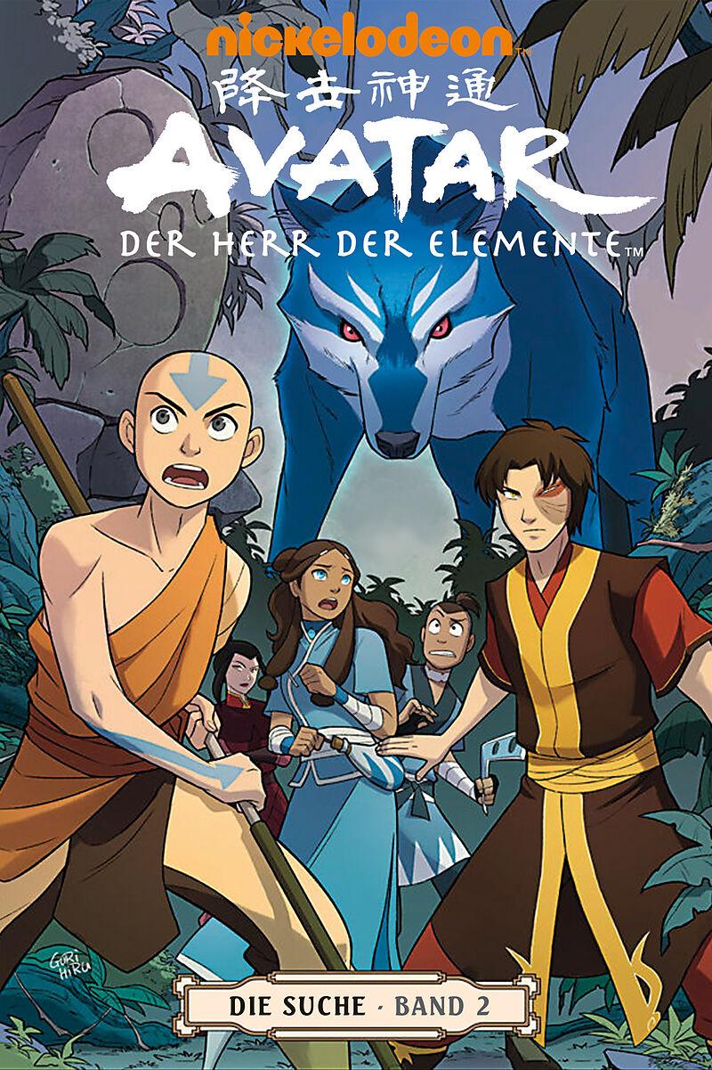 Avatar Herr Der Elemente Buch