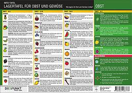 Kartonierter Einband Lagertafel Obst & Gemüse von Schulze Media GmbH