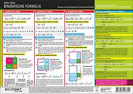Fester Einband Binomische Formeln von Schulze Media GmbH