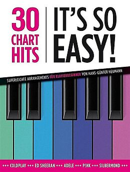 Notenblätter 30 Chart Hits - Its so Easy! vol.1