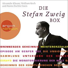 Audio CD (CD/SACD) Die Stefan Zweig Box (Brennendes Geheimnis / Meistererzählungen / Essays) von Stefan Zweig