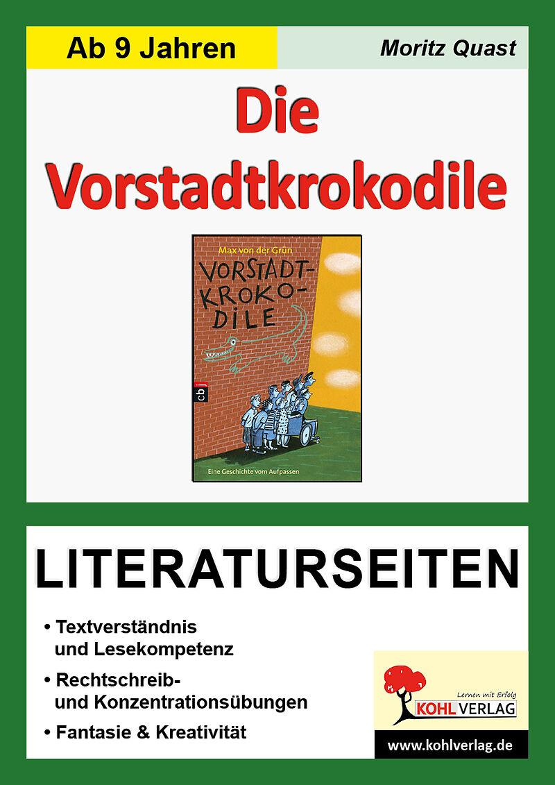 Die Vorstadtkrokodile   Literaturseiten   Moritz Quast   Buch ...