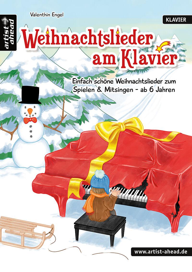 weihnachtslieder am klavier f r klavier zweih ndig. Black Bedroom Furniture Sets. Home Design Ideas
