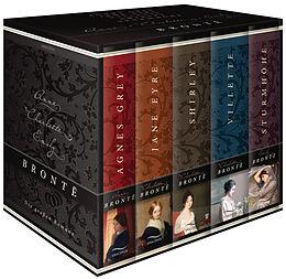 Fester Einband Brontë, Die großen Romane (Agnes Grey - Jane Eyre - Shirley - Villette - Sturmhöhe) (5 Bände im Schuber) von Anne Brontë, Charlotte Brontë, Emily Brontë