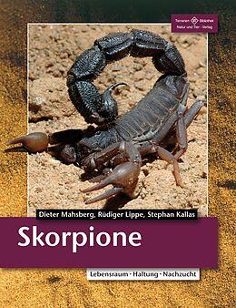 Kartonierter Einband Skorpione von Dieter Mahsberg, Rüdiger Lippe, Stephan Kallas