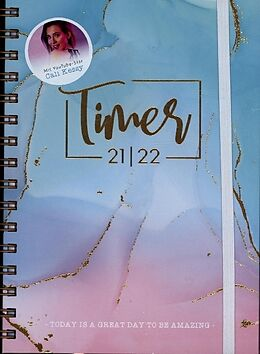 Spiralbindung Häfft-Timer 'Edition Cali Kessy' 2021/2022 von Cali Kessy