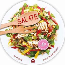 Fester Einband Die runden Bücher: Salate von Carla Bardi