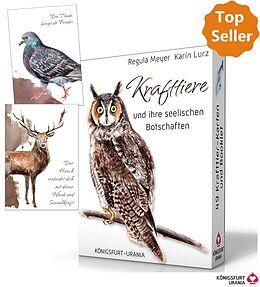 Kartonierter Einband Krafttiere und ihre seelischen Botschaften von Regula Meyer