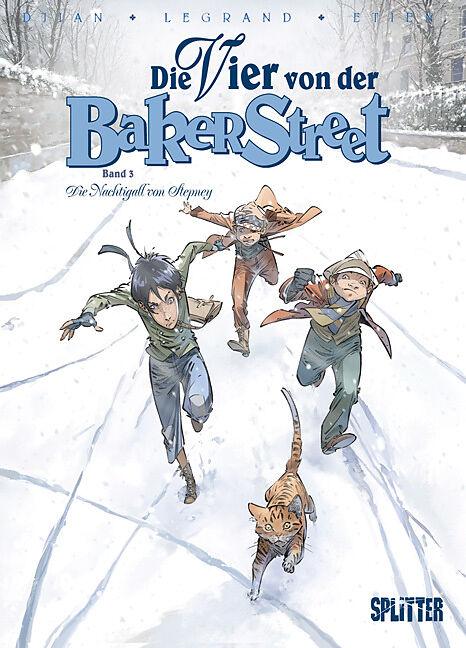 Die Vier von der Baker Street 03. Die Nachtigall von Stepney [Version allemande]