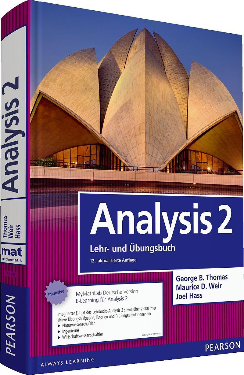 Analysis 2. Lehr- und Übungsbuch [Versione tedesca]