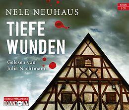Audio CD (CD/SACD) Tiefe Wunden (Ein Bodenstein-Kirchhoff-Krimi 3) von Nele Neuhaus