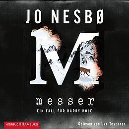 Audio CD (CD/SACD) Messer (Ein Harry-Hole-Krimi 12) von Jo Nesbø