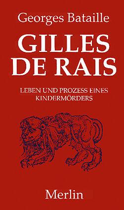 Kartonierter Einband Gilles de Rais von Georges Bataille