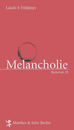 Melancholie [Versione tedesca]