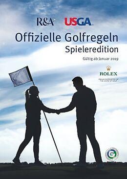 Kartonierter Einband Offizielle Golfregeln - Spieleredition von