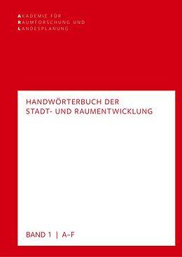 E-Book (pdf) Handwörterbuch der Stadt- und Raumentwicklung von