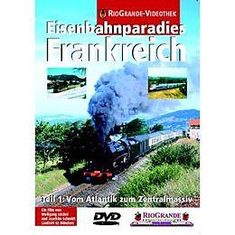 RioGrande - Eisenbahnparadies Frankreich (Teil 1) Vom Atlantik zum Zentralmassiv [Version allemande]