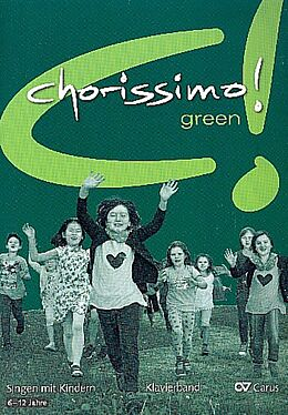Kartonierter Einband chorissimo! green. Klavierband von Klaus Konrad Weigele, Klaus Brecht
