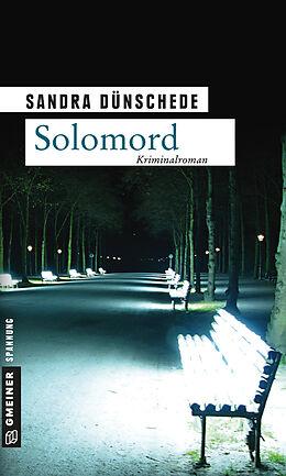 Kartonierter Einband Solomord von Sandra Dünschede