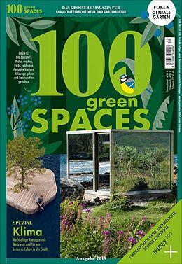 Kartonierter Einband 100 green SPACES von Mariella Beier, Christoph Benkeser, Isabella Diessl