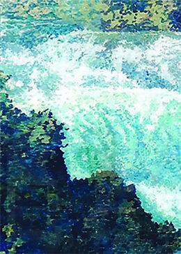 Fester Einband Hinterglasmalerei von Richard Tisserand