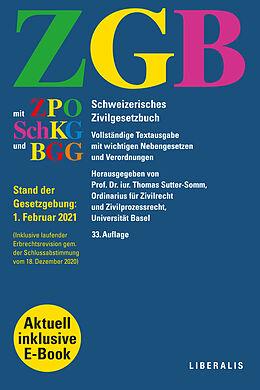 Taschenbuch ZGB von Thomas Sutter-Somm