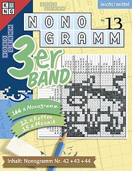 Nonogramm 3er-Band Nr. 13. leicht / mittel [Versione tedesca]