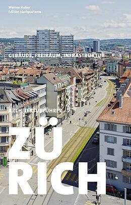 Kartonierter Einband Architekturführer Zürich von