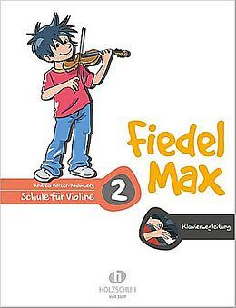 Andrea Holzer-Rhomberg Notenblätter Fiedel-Max Violine Schule Band 2