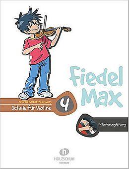 Andrea Holzer-Rhomberg Notenblätter Fiedel-Max Violine Schule Band 4