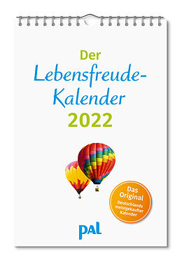 Kalender Der Lebensfreude-Kalender 2022 von Doris Wolf, Merkle Rolf, Maja Günther