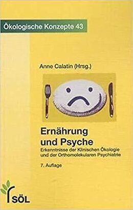 Kartonierter Einband Ernährung und Psyche von
