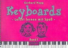 Gerhard Hopp Notenblätter Keyboards Band 1 Leicht