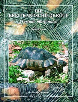 Kartonierter Einband Breitrandschildkröte von Manfred Rogner