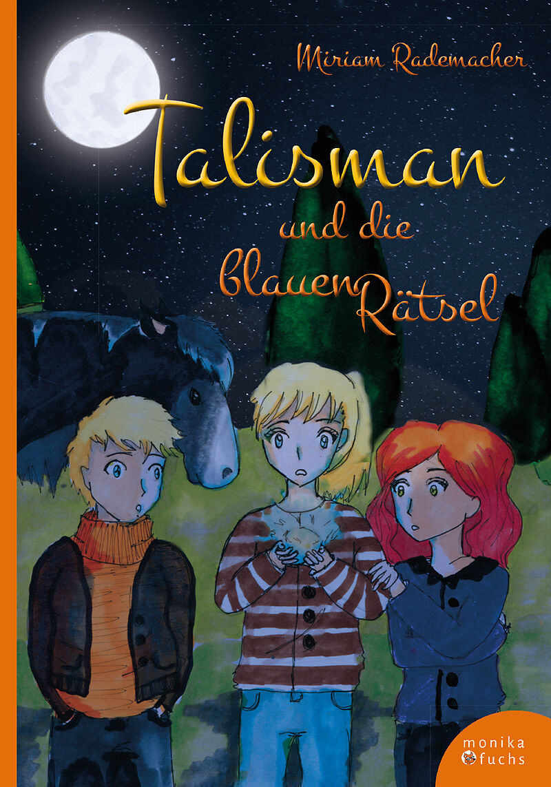 bb4376e34c Talisman und die blauen Rätsel - Miriam Rademacher - Buch kaufen | Ex Libris