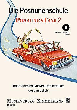 Jan Utbult Notenblätter Posaunentaxi Band 2 (+Online-Audio)