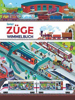 Züge Wimmelbuch [Version allemande]