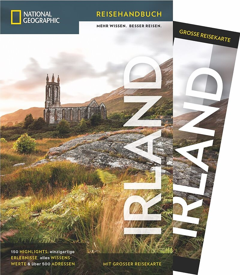 National Geographic Reiseführer Irland: Mit Karte, Sehenswürdigkeiten und Geheimtipps von Irland wie Waterford, Ring of Kerry und Cliffs of Moher,