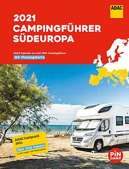 Kartonierter Einband ADAC Campingführer Südeuropa 2021 von