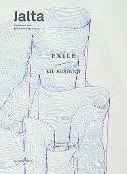 Kartonierter Einband Exile. Ein Kunstheft von Arielle Angel, Michael Heinzmann, Lena Inowlocki
