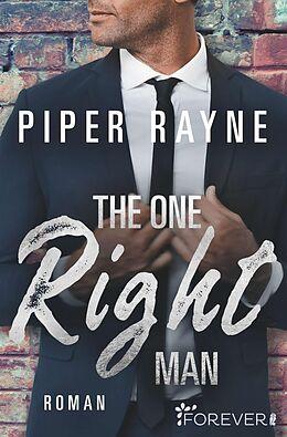 Kartonierter Einband The One Right Man von Piper Rayne