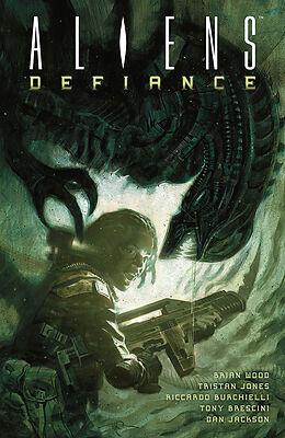 Kartonierter Einband Aliens: Defiance von Brian Wood