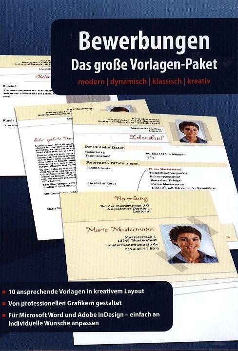 Bewerbungen Das Grosse Vorlagen Paket Pc D Sonstige