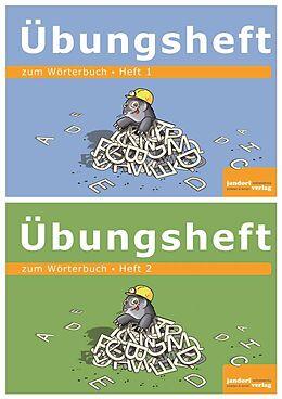 Übungsheft zum Wörterbuch 1 und 2 [Versione tedesca]
