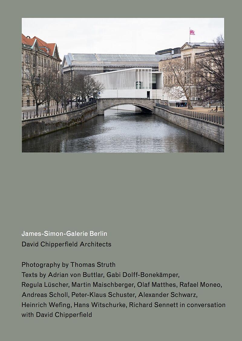 James-Simon-Galerie Berlin. David Chipperfield Architects
