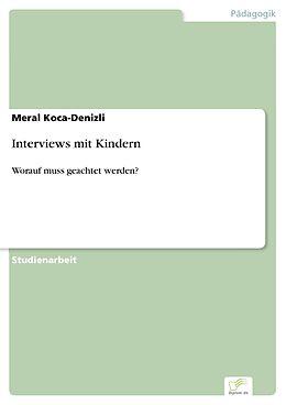 E-Book (pdf) Interviews mit Kindern von Meral Koca-Denizli